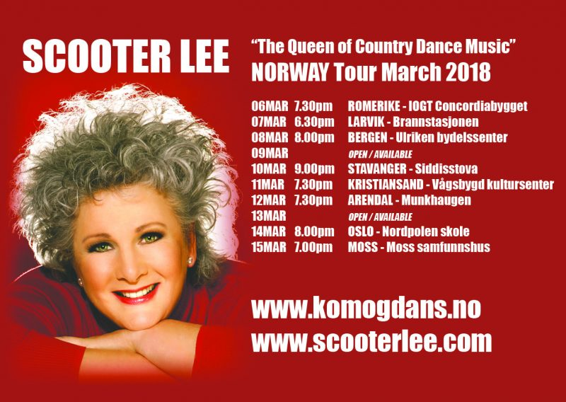 Scooter Lee synger for dansekveld og konsert. @ IOGT Concordiabygget, Lillestrøm |  |  |